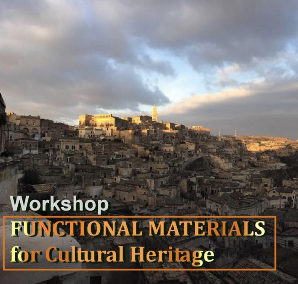 "WORKSHOP ""FUNCTIONAL MATERIALS FOR CULTURAL HERITAGE"""