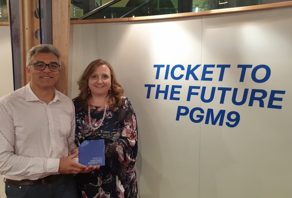 ArgiNaRe PREMIATO DALLA SOCIALFARE AL TICKET TO THE FUTURE PGM9